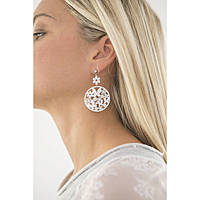 ear-rings woman jewellery Sagapò Flower SFL22
