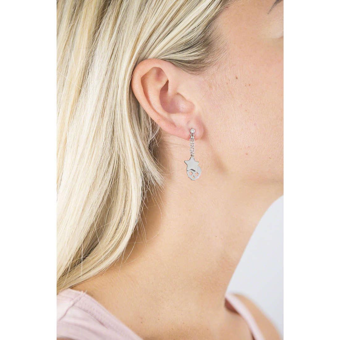 Sagapò earrings Hamlet woman SHM24 indosso