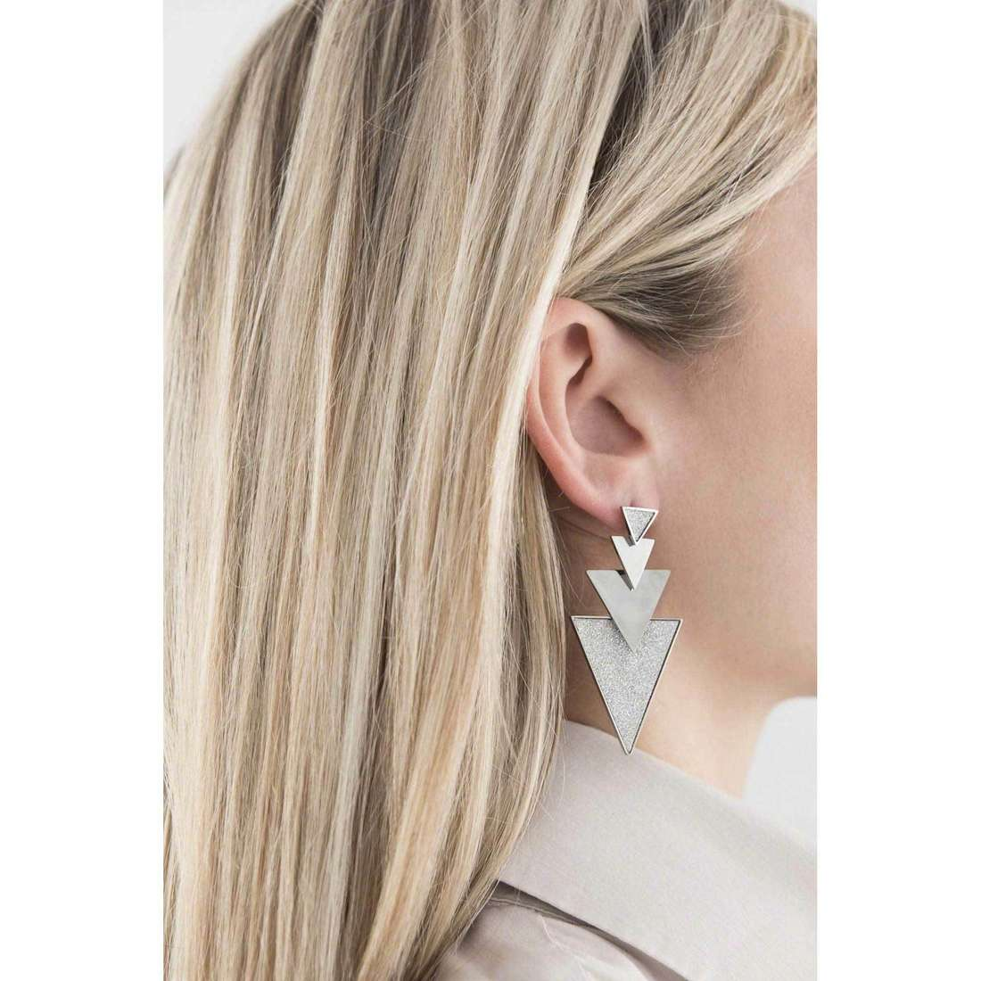 Sagapò earrings Punky woman SPK21 indosso