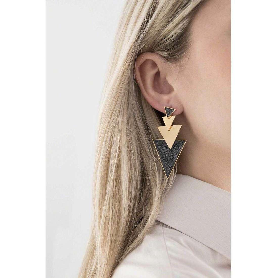 Sagapò earrings Punky woman SPK22 indosso