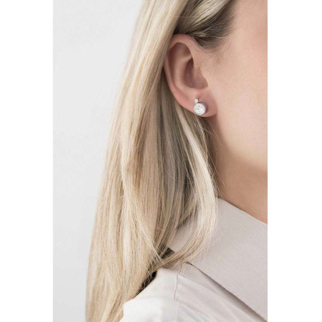 Sagapò earrings Stardust woman SAGAPOSST21 indosso