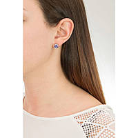 ear-rings woman jewellery Sagapò Stardust SAGAPOSST23