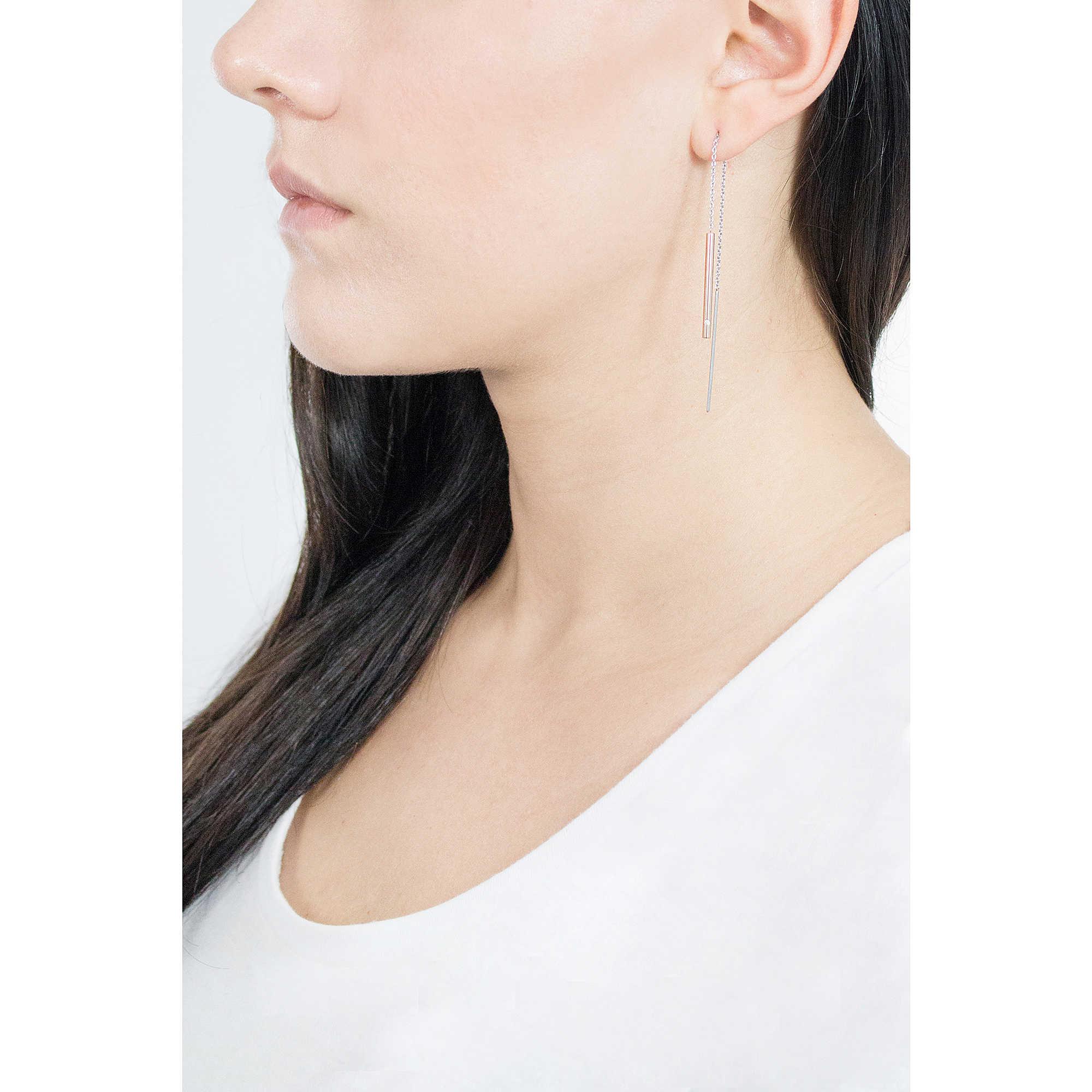 12163b4e2 ear-rings woman jewellery Skagen Elin SKJ1079998 earrings Skagen