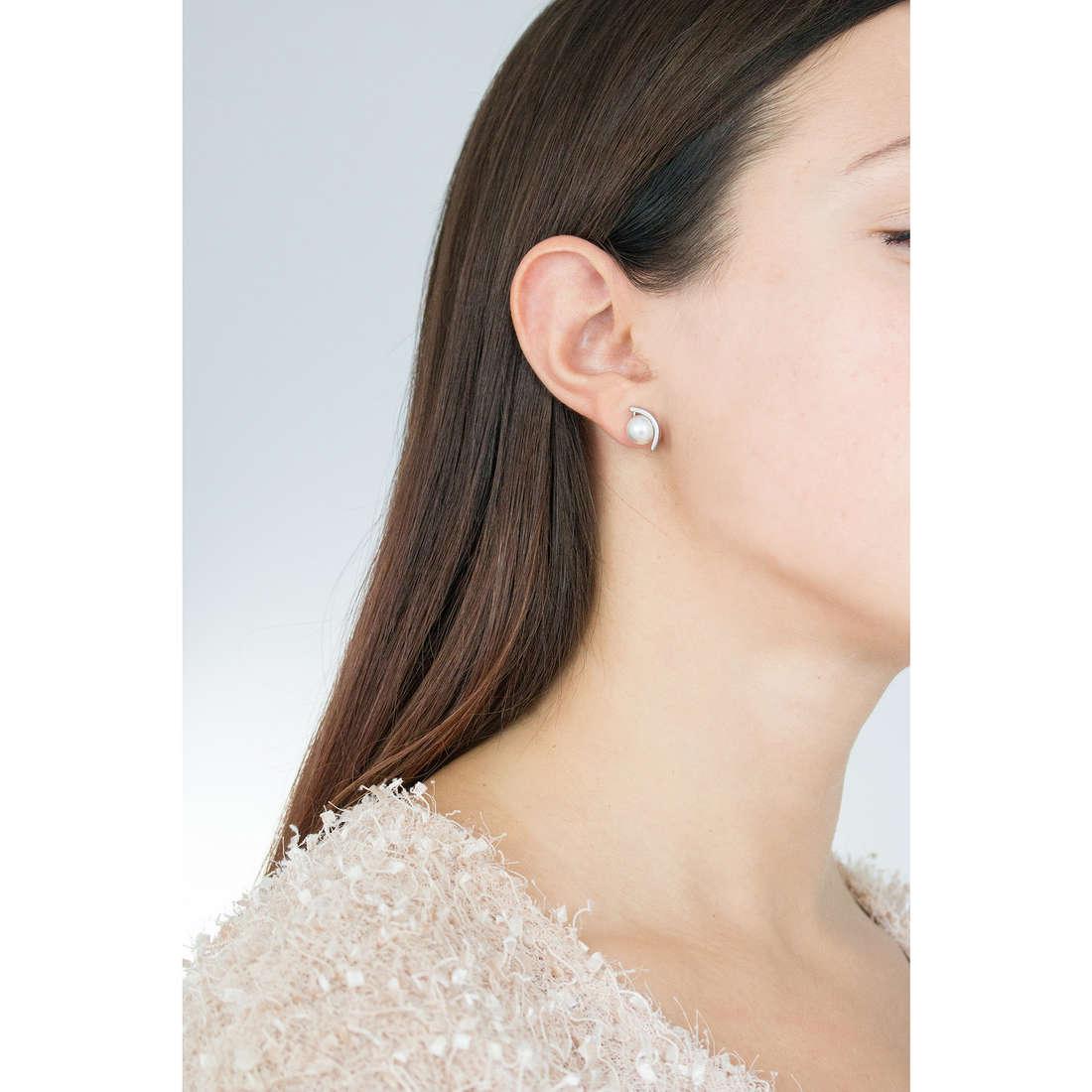 Skagen earrings Fall 2015 woman SKJ0736040 photo wearing