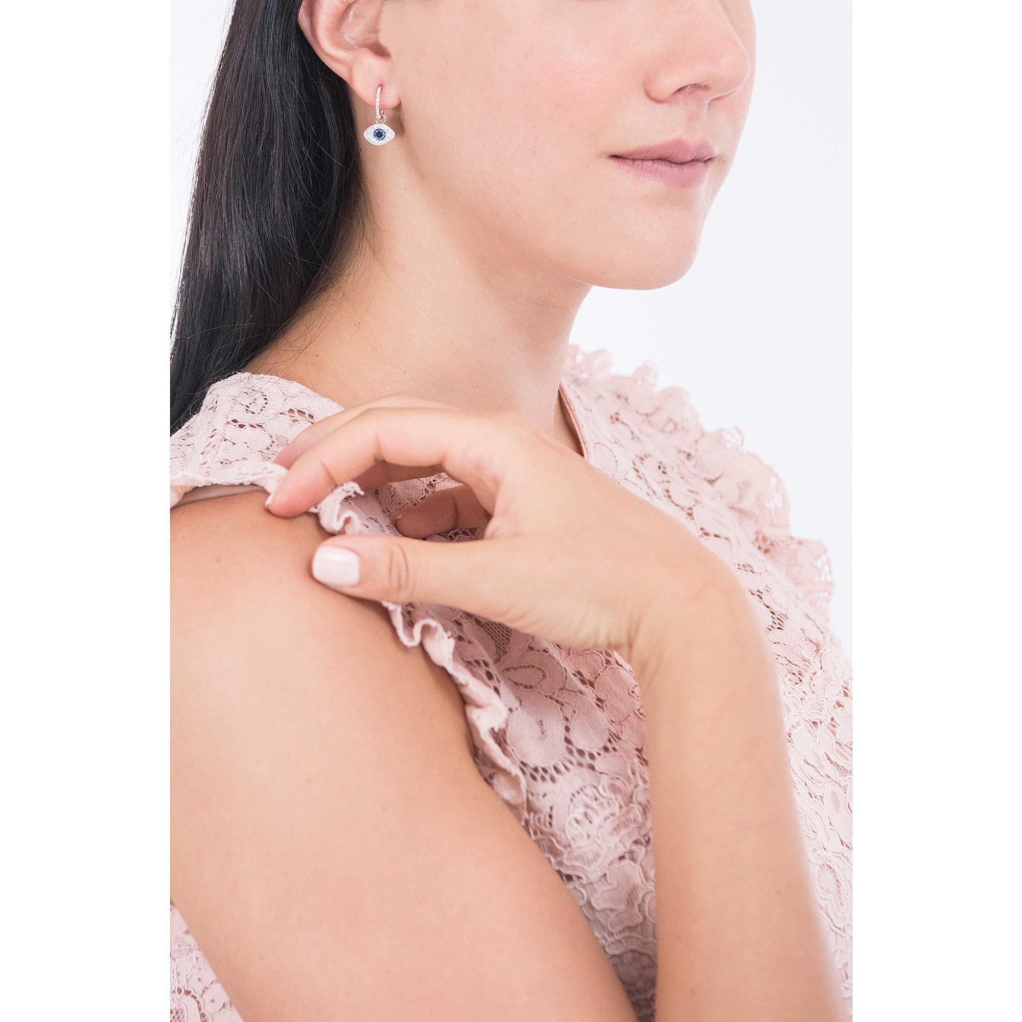 f85fa2068 ear-rings woman jewellery Swarovski Duo Evil Eye 5425857 earrings ...