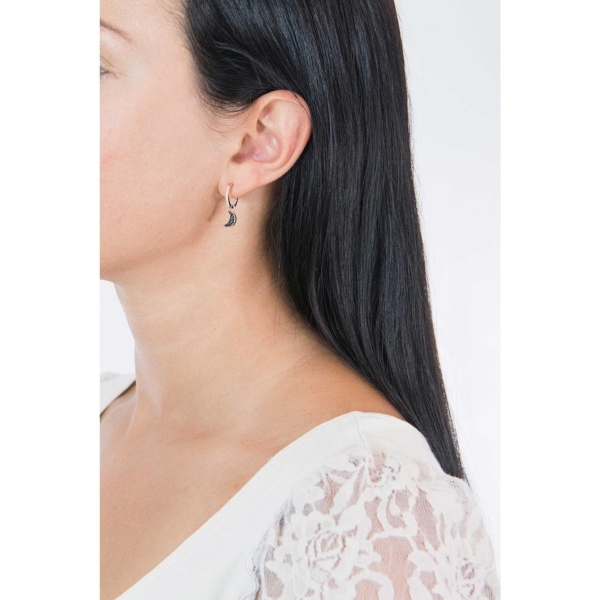 b611f0873 ear-rings woman jewellery Swarovski Duo Moon 5440458 earrings Swarovski