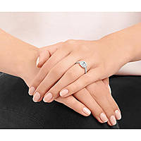 Fingerring frau Schmuck Swarovski Attract Light 5221411