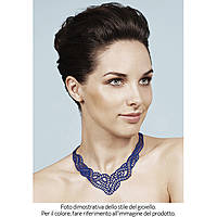Halskette frau Schmuck Batucada Marina BTC15-10-01-01BL