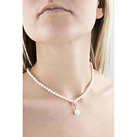 Halskette frau Schmuck Comete Perla FWQ 164