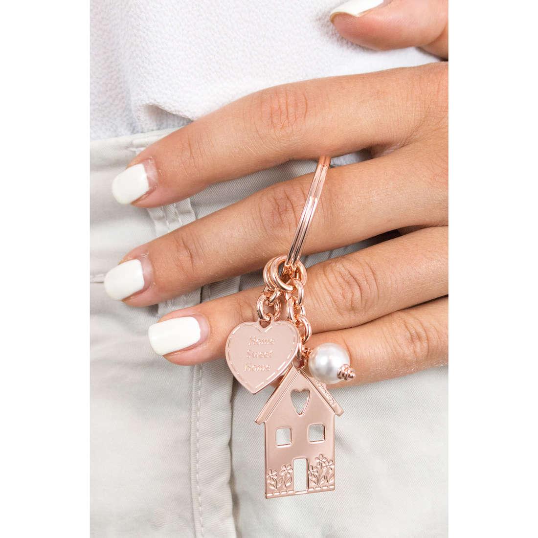 Nomination key-rings Swarovski woman 131700/018 photo wearing