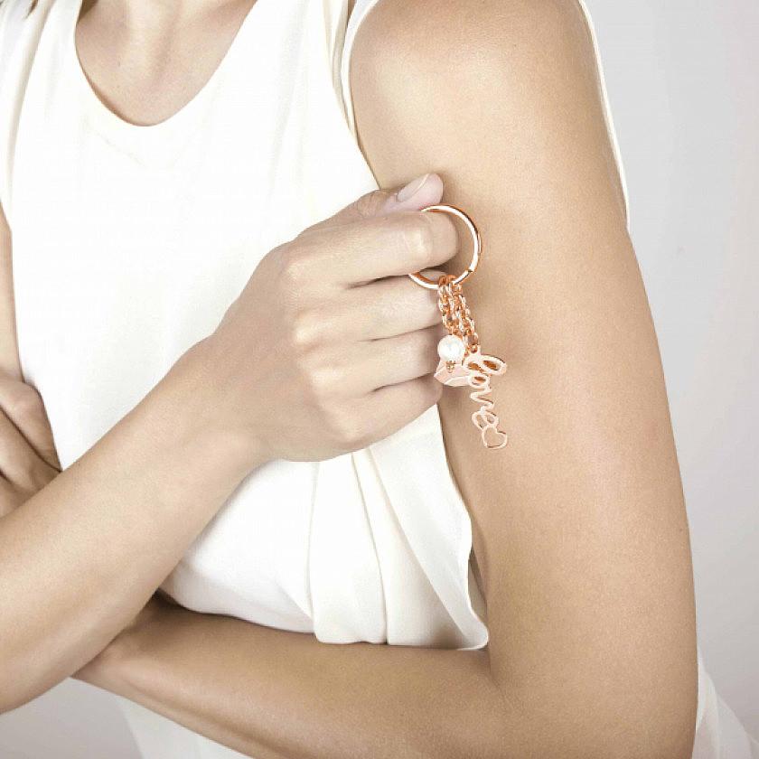 Nomination key-rings Swarovski woman 131700/020 photo wearing