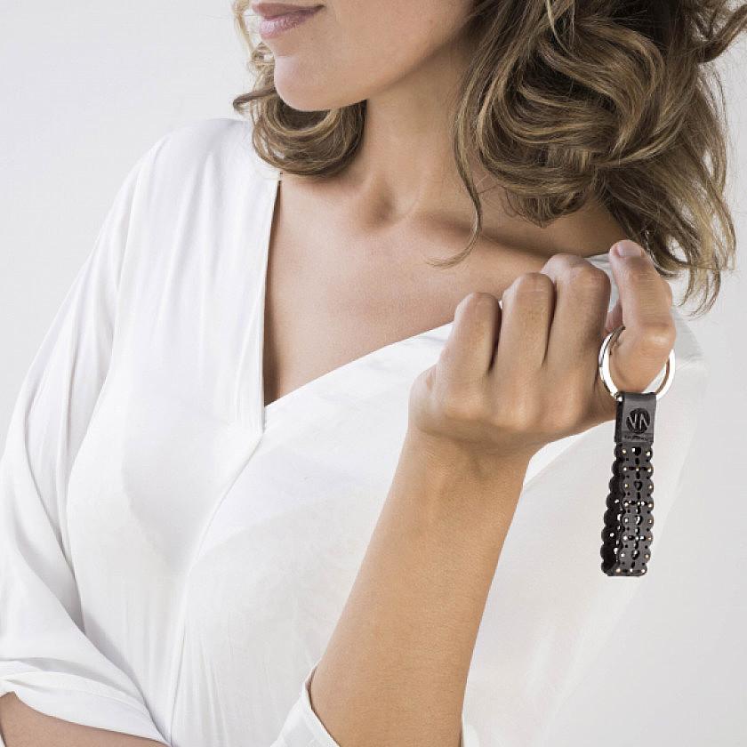 Nomination key-rings Swarovski woman 131701/001 photo wearing