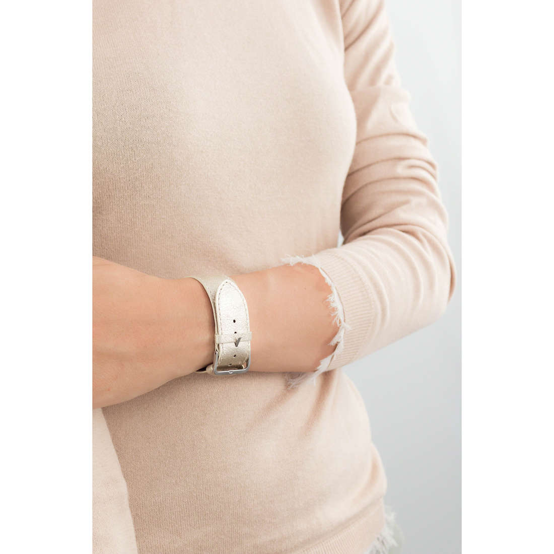 Breil bande de montres Infinity femme TWB0007 indosso