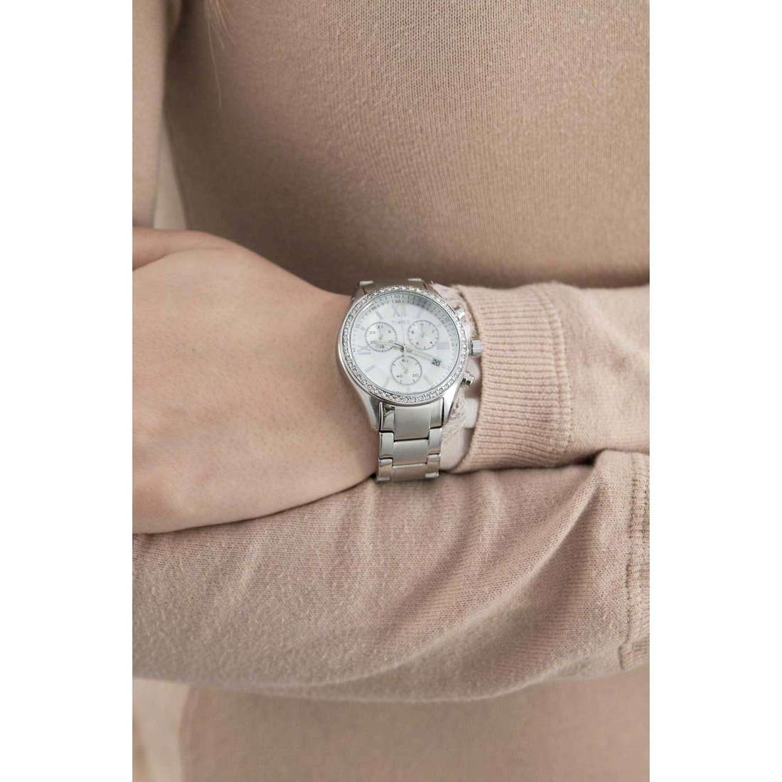 Timex chronographes Women's Collection femme TW2P66800 indosso