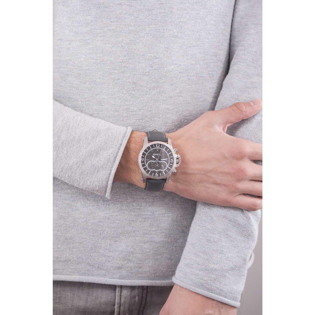 Breil chronographes Aviator homme TW1273 photo wearing
