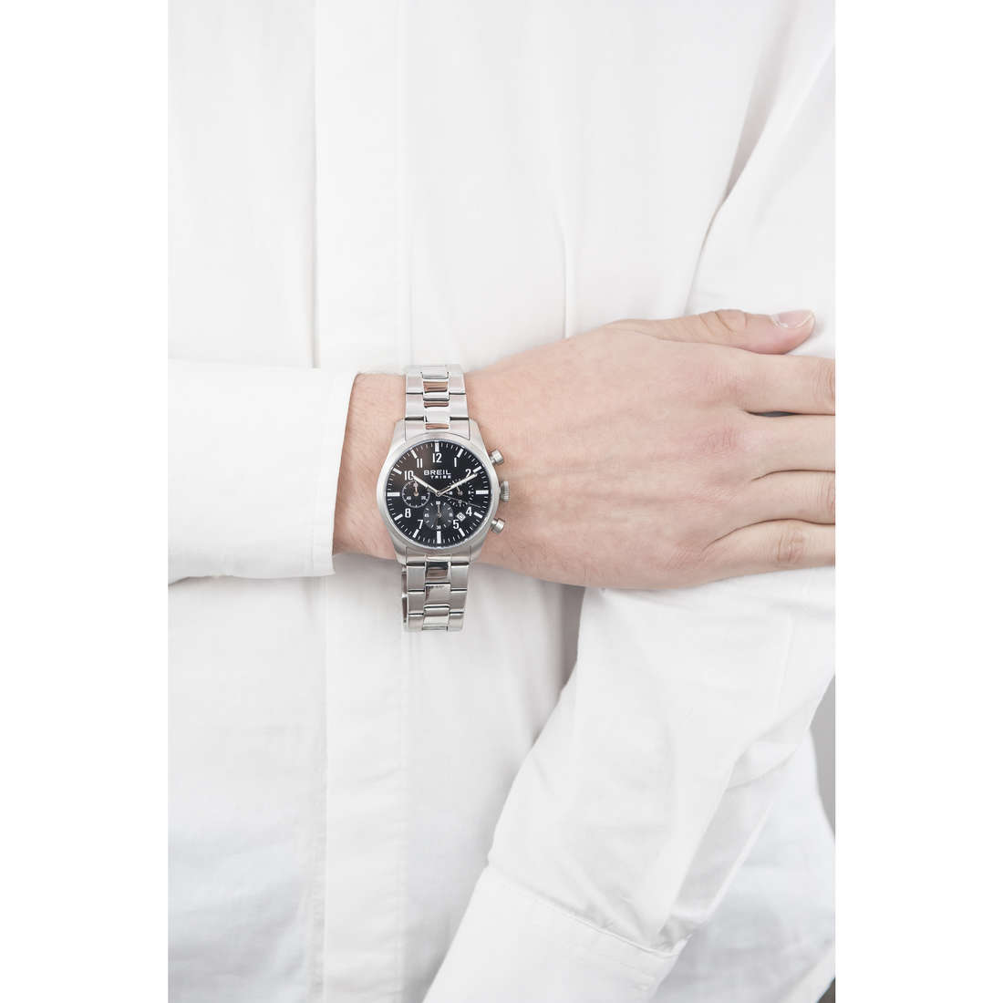 Breil chronographes Classic Elegance Extension homme EW0227 photo wearing