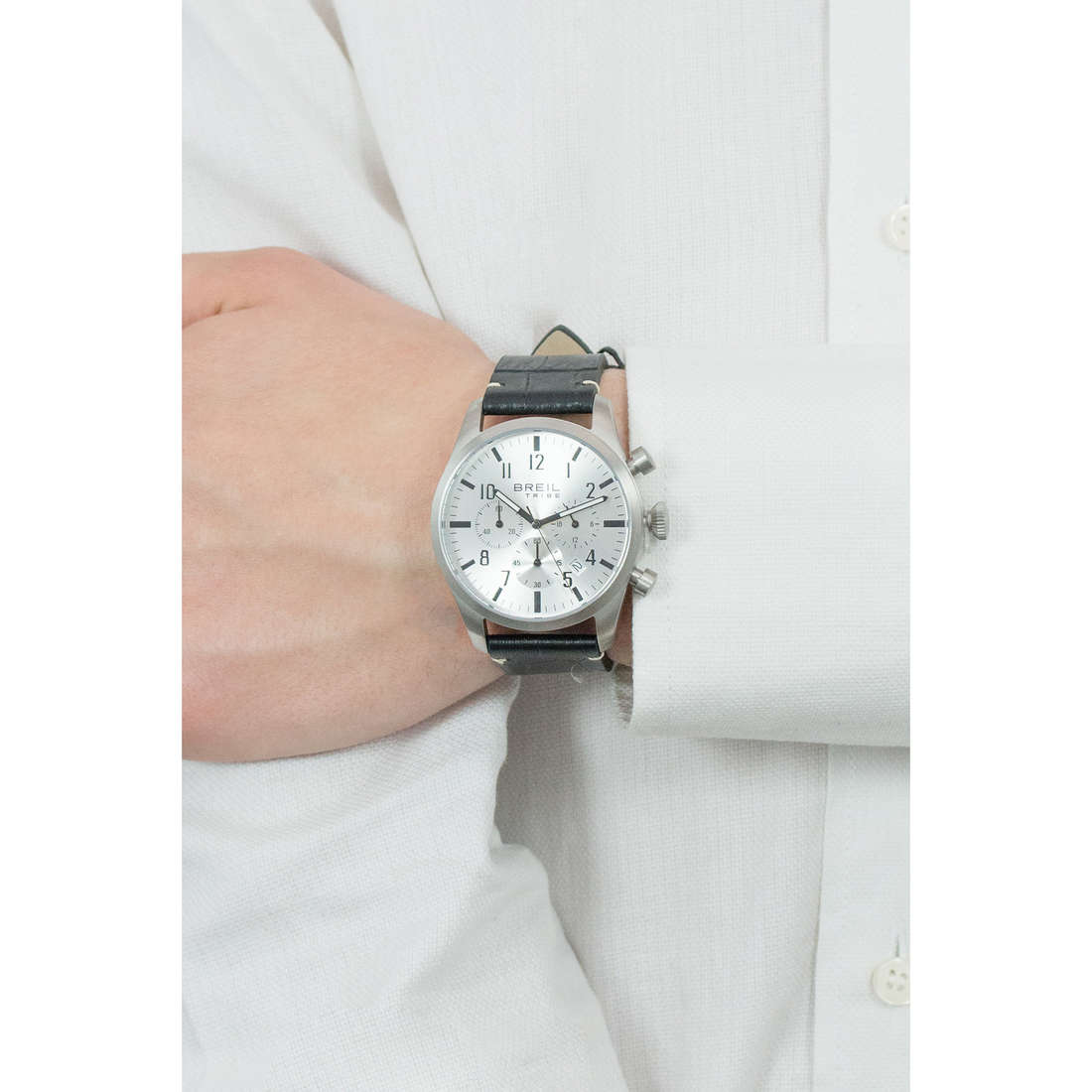 Breil chronographes Classic Elegance Extension homme EW0230 photo wearing