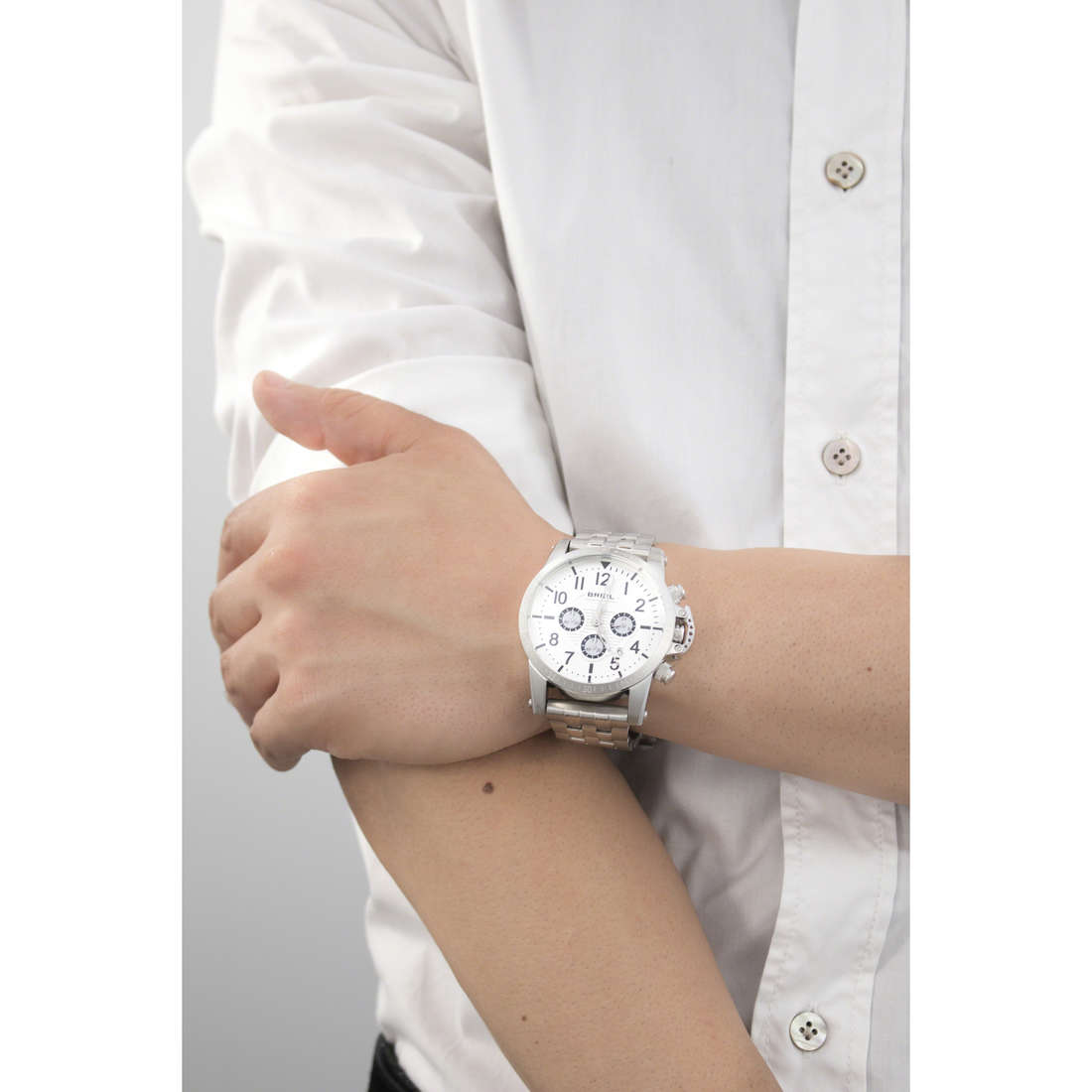 Breil chronographes Classic Elegance Extension homme TW1502 photo wearing