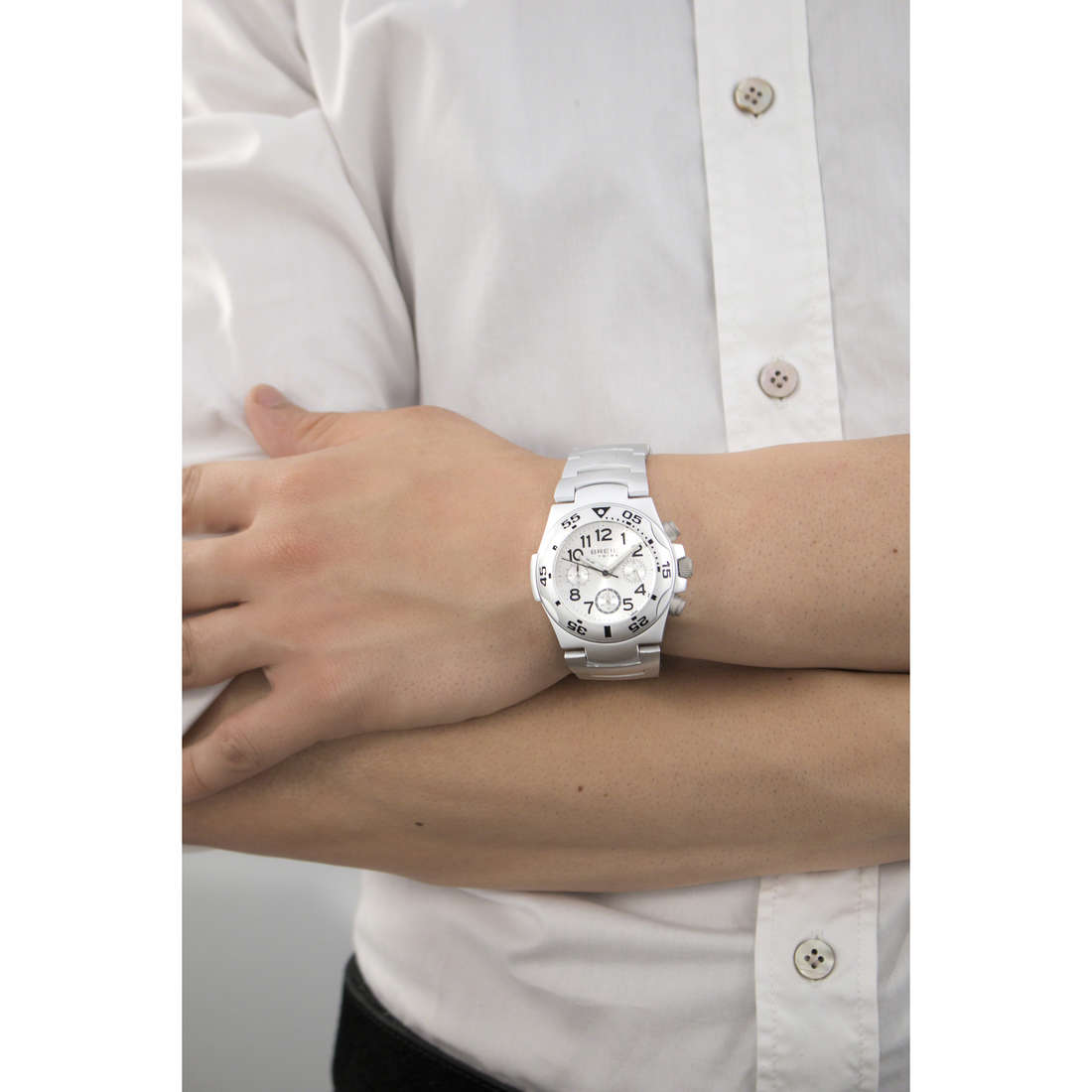 Breil chronographes Ice homme EW0210 indosso