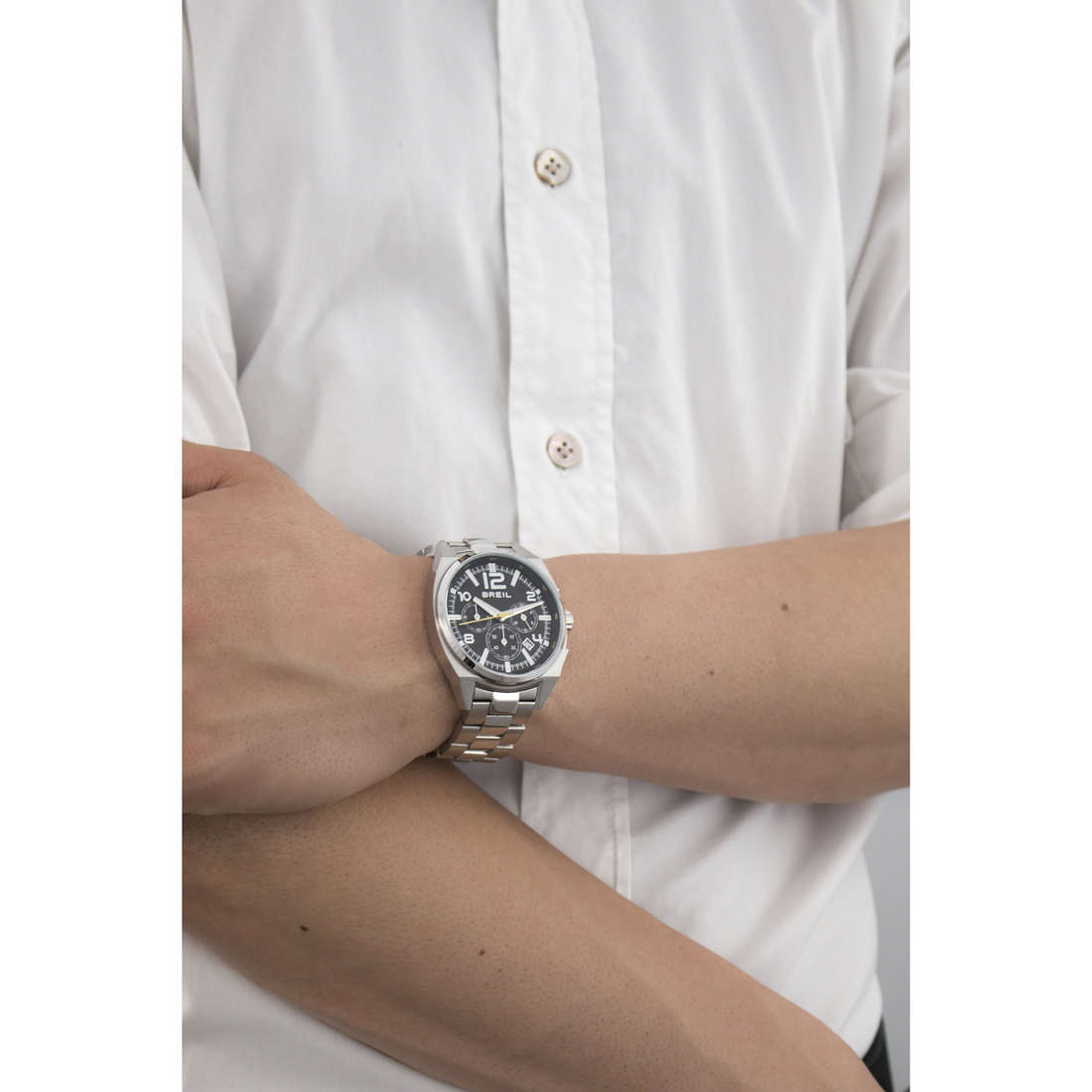 Breil chronographes Master homme TW1406 indosso