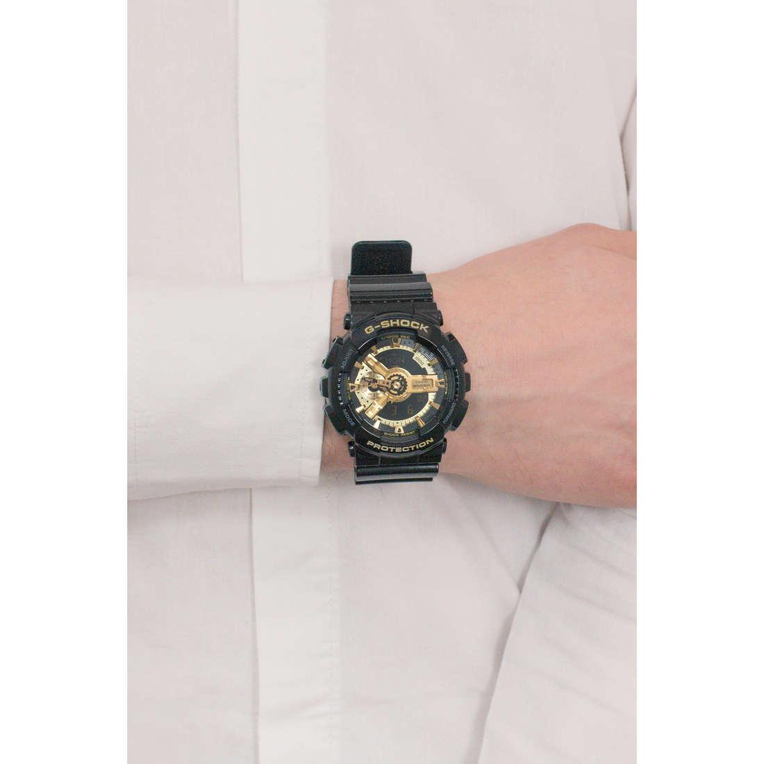 Casio numériques G-Shock homme GA-110GB-1AER photo wearing