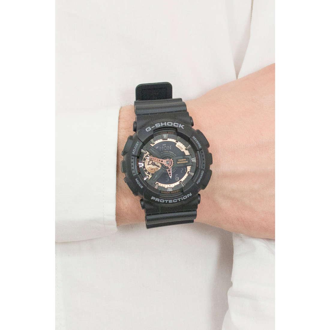 Casio numériques G-Shock homme GA-110RG-1AER photo wearing