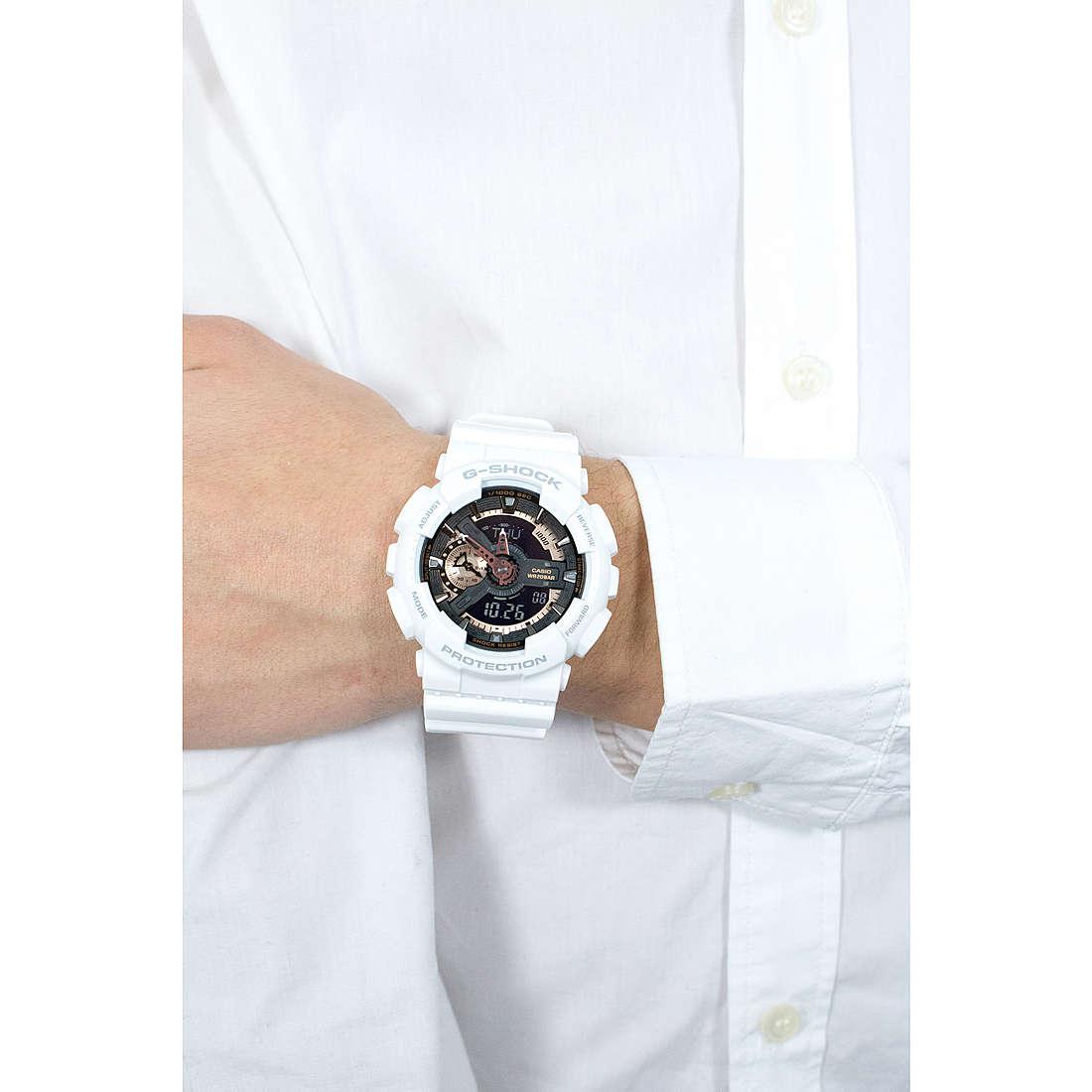 Casio numériques G-Shock homme GA-110RG-7AER photo wearing