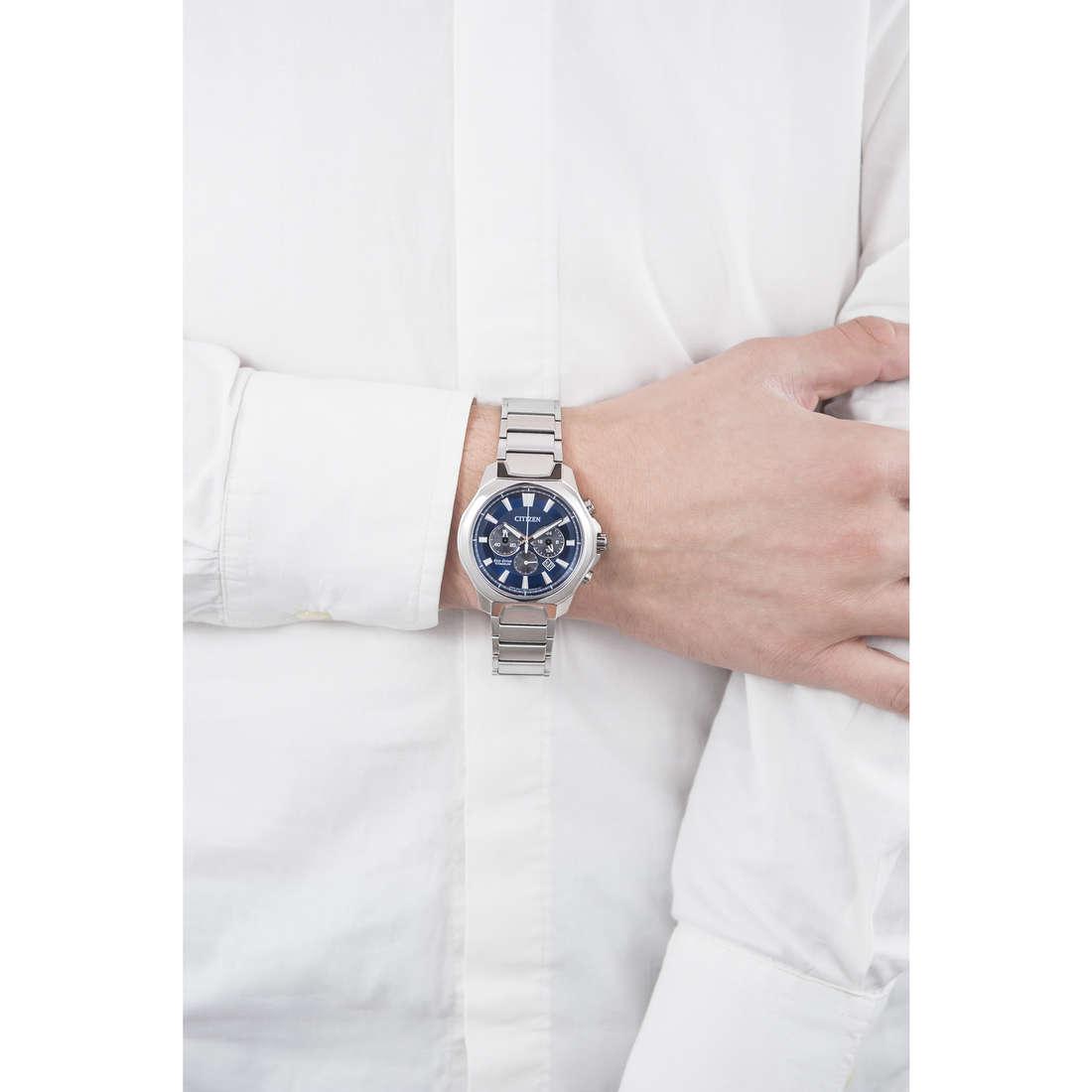 Citizen chronographes Supertitanio homme CA4320-51L indosso