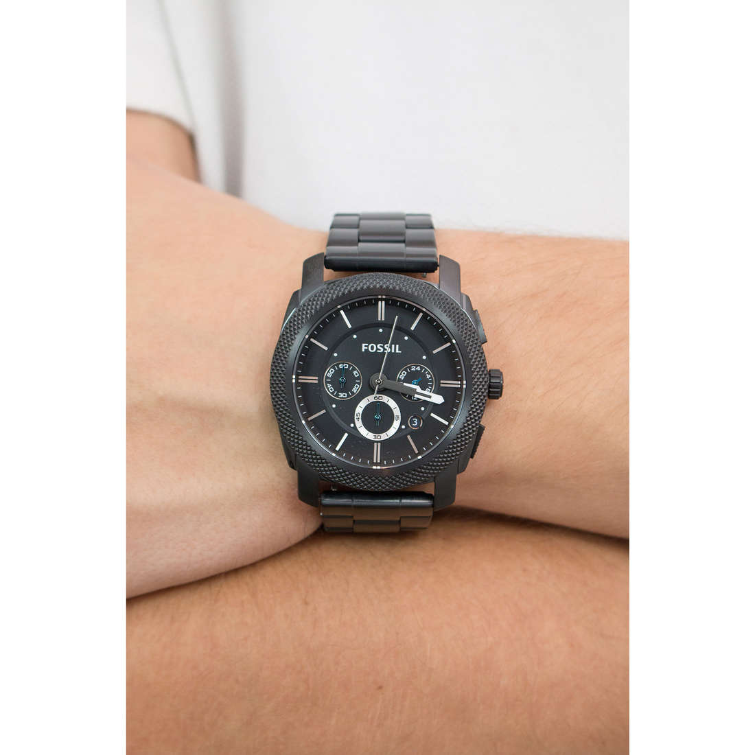 Fossil chronographes homme FS4552 photo wearing