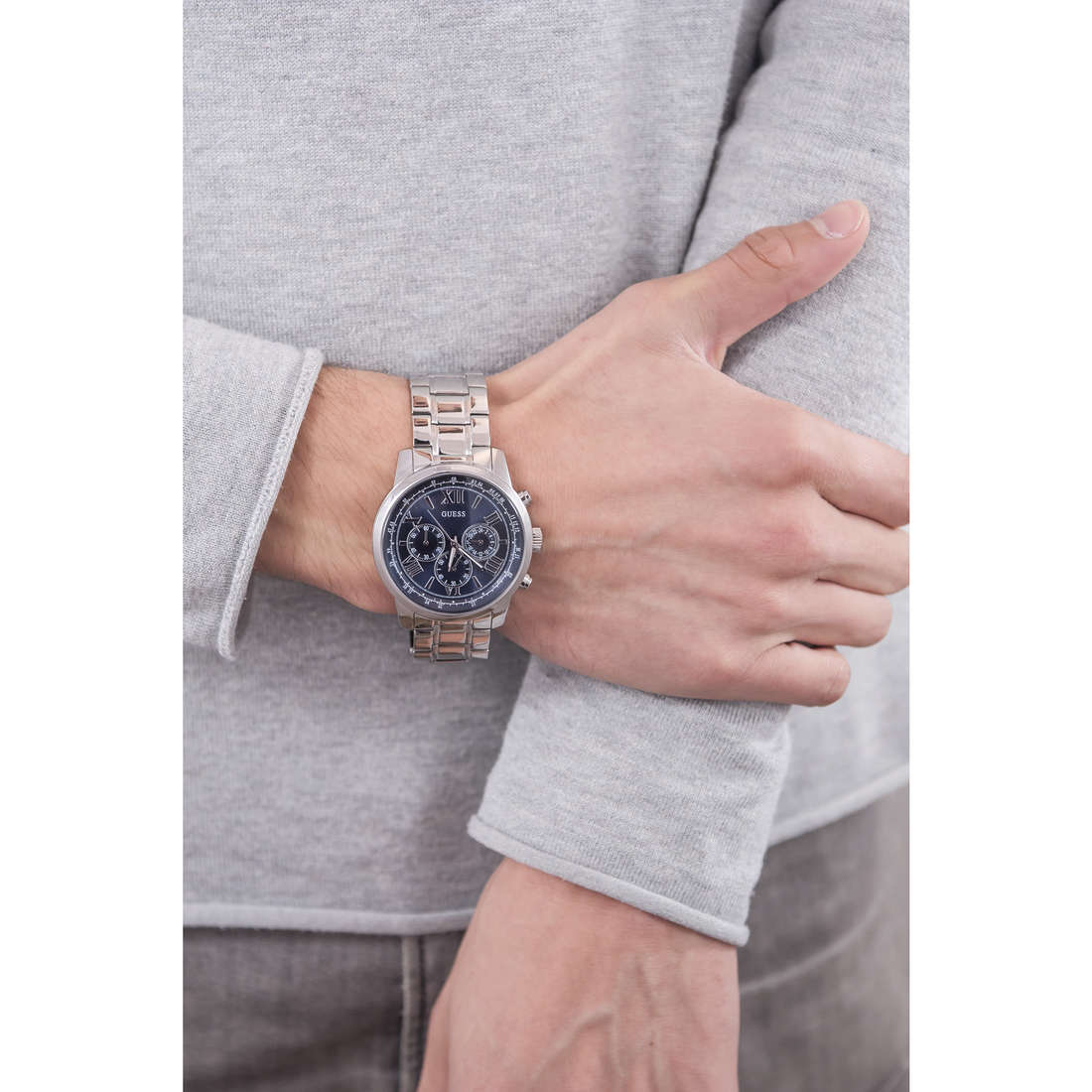 Guess chronographes homme W0379G3 photo wearing