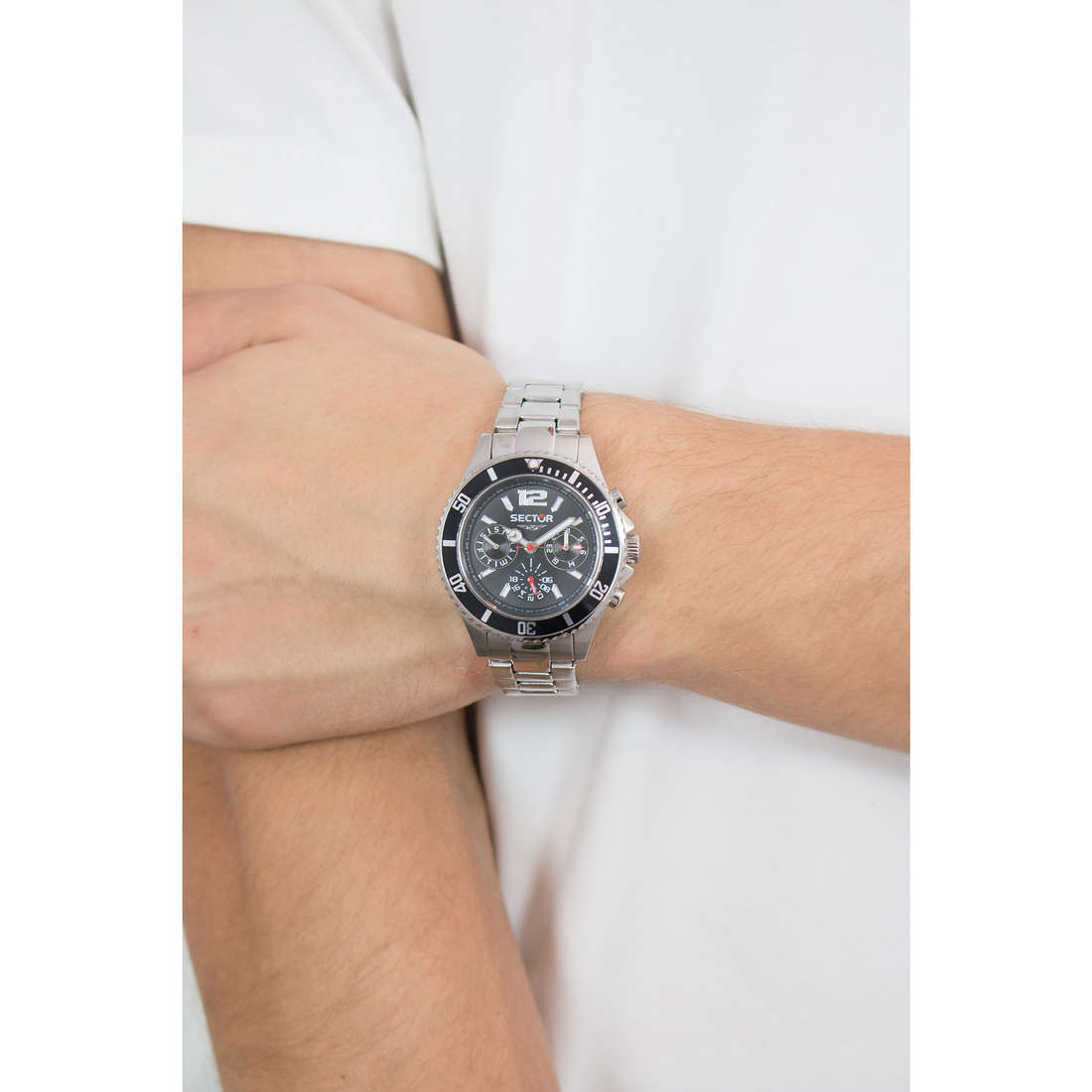 Sector chronographes 230 homme R3253161011 photo wearing
