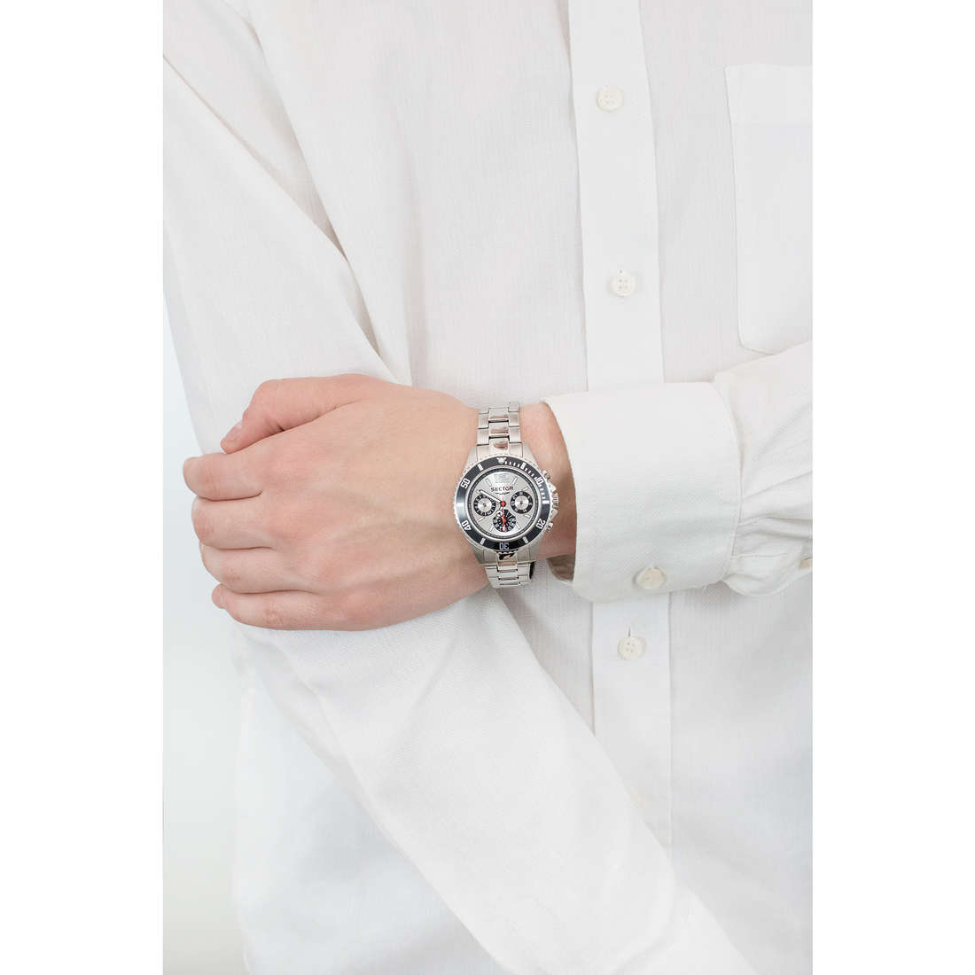 Sector chronographes 230 homme R3253161012 photo wearing