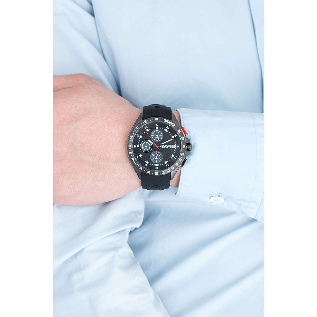 Sector chronographes homme R3271687002 photo wearing