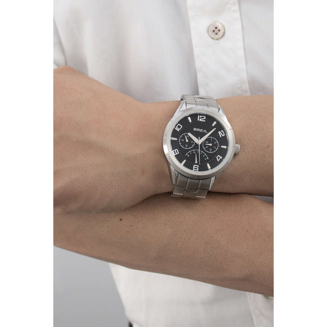 Breil multifonction Lounge In homme TW1470 indosso