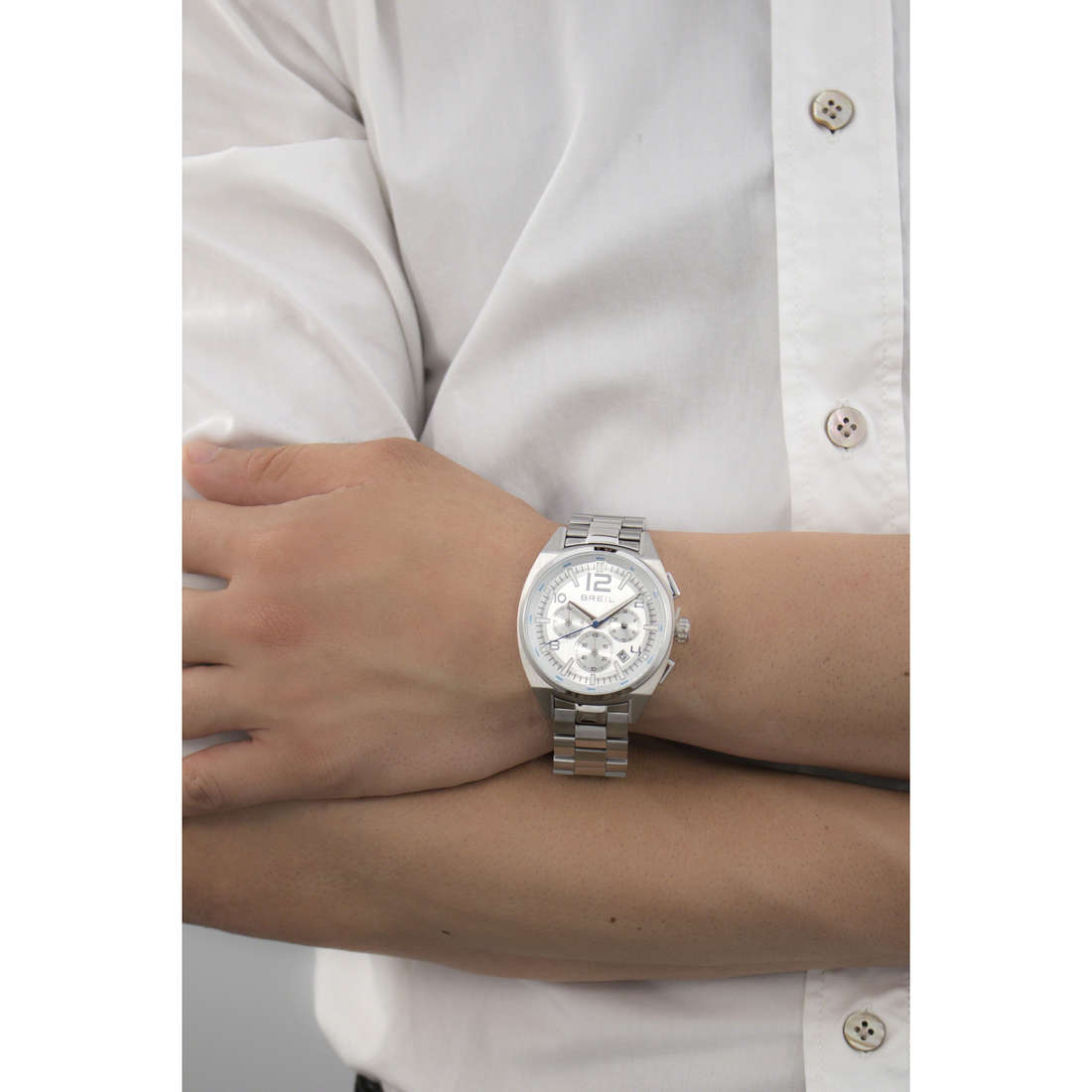Breil chronographes Master homme TW1403 indosso
