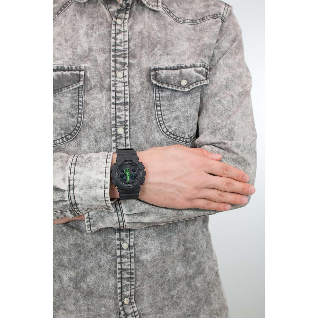 Casio numériques G-Shock homme GA-100C-1A3ER indosso