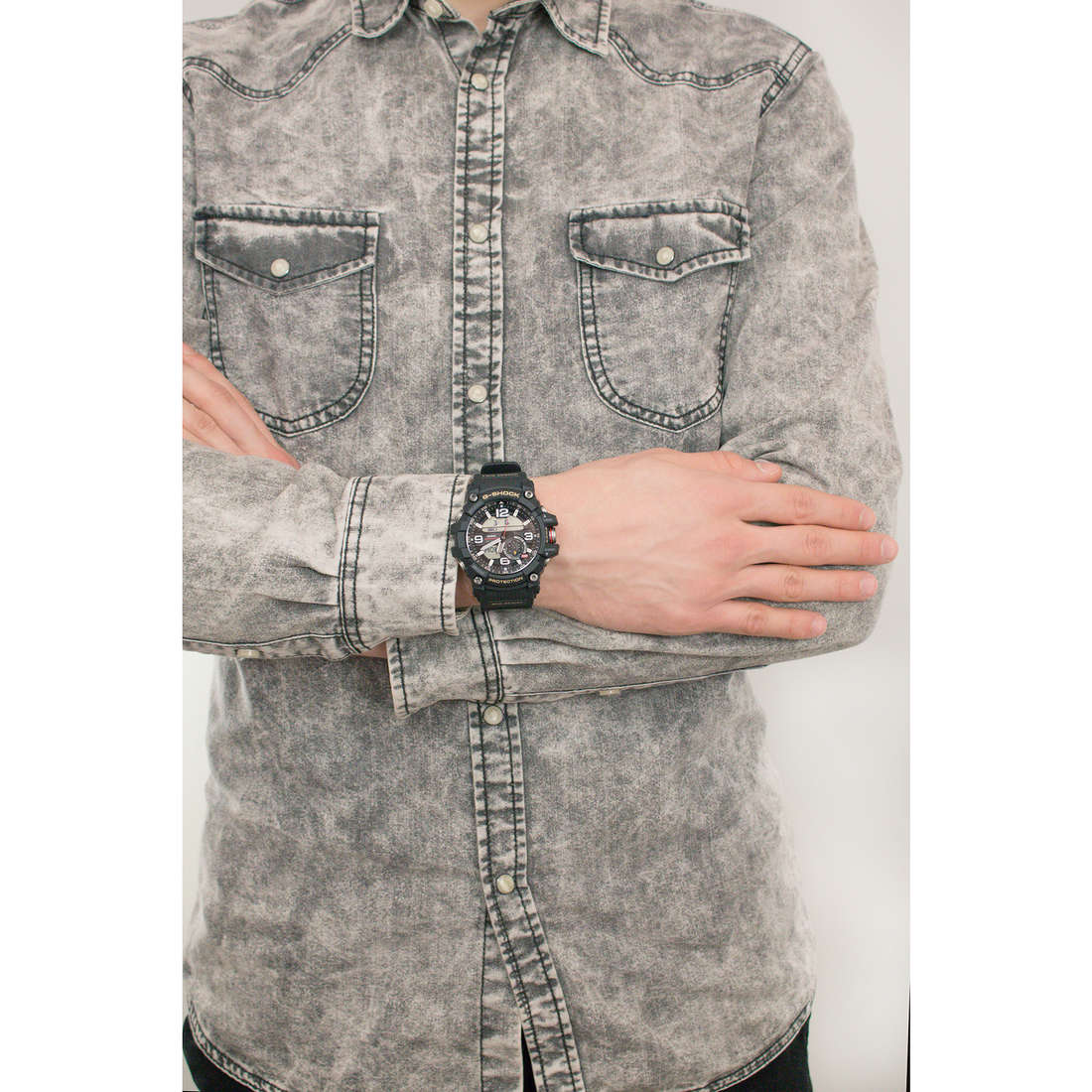 Casio numériques G-Shock homme GG-1000-1AER indosso