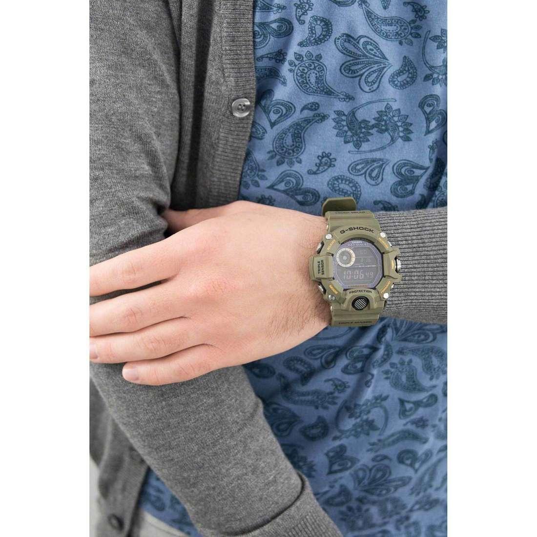 Casio numériques G-Shock homme GW-9400-3ER indosso