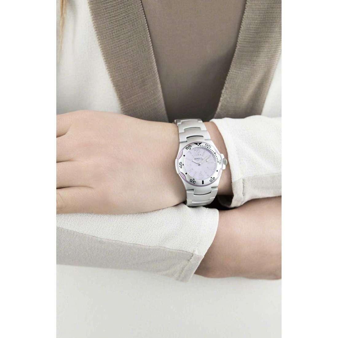 Breil seul le temps Ice femme EW0215 indosso