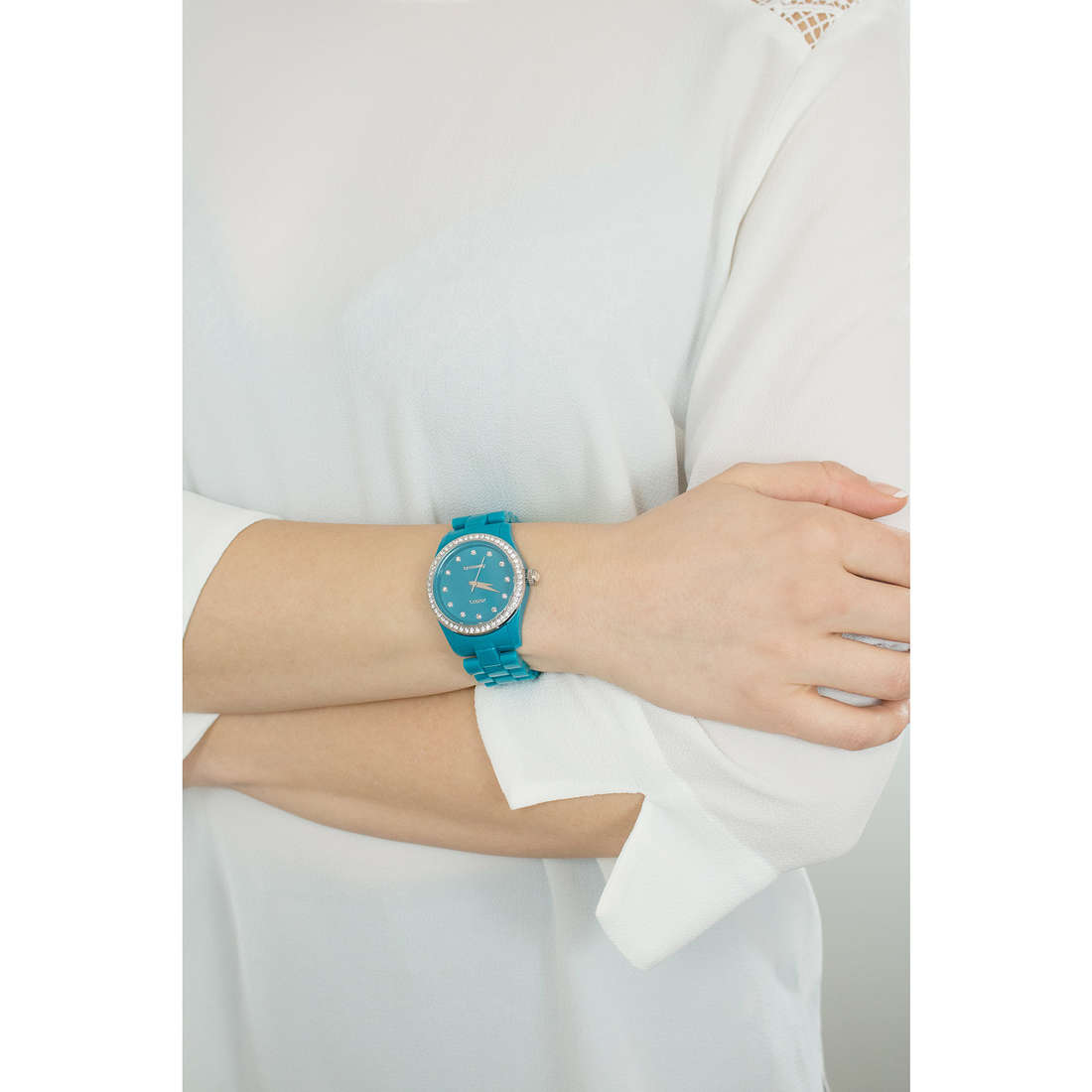 Brosway seul le temps T-Color femme WTC28 indosso