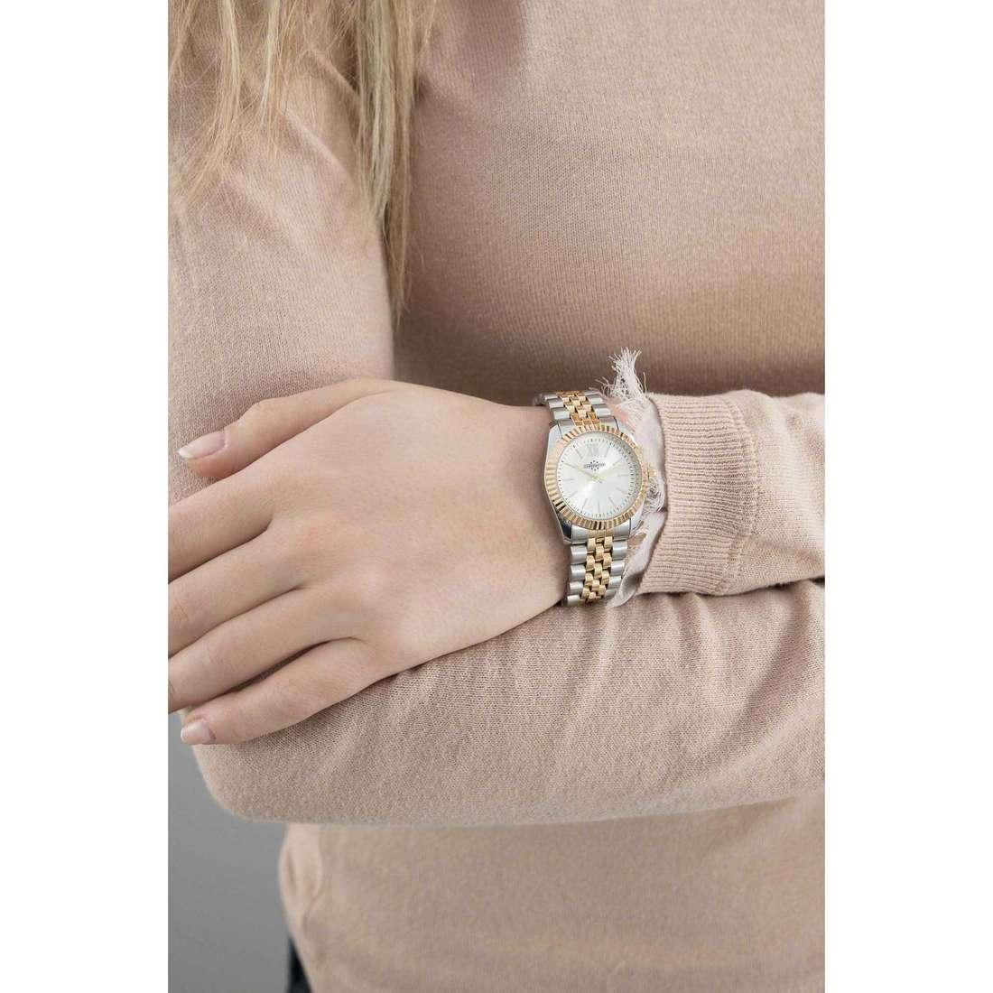 Chronostar seul le temps Luxury femme R3753241505 indosso