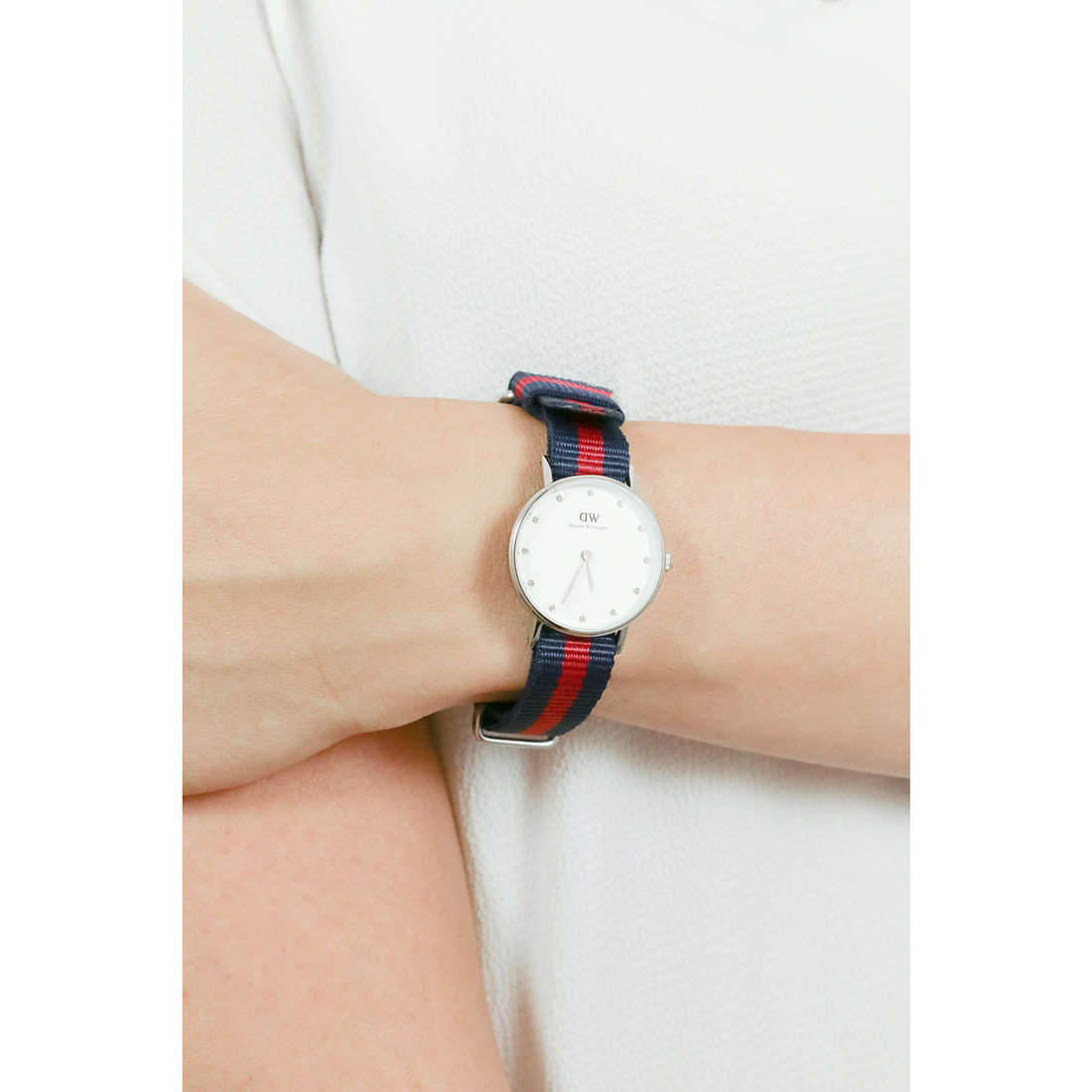 Daniel Wellington seul le temps Classy femme DW00100072 photo wearing