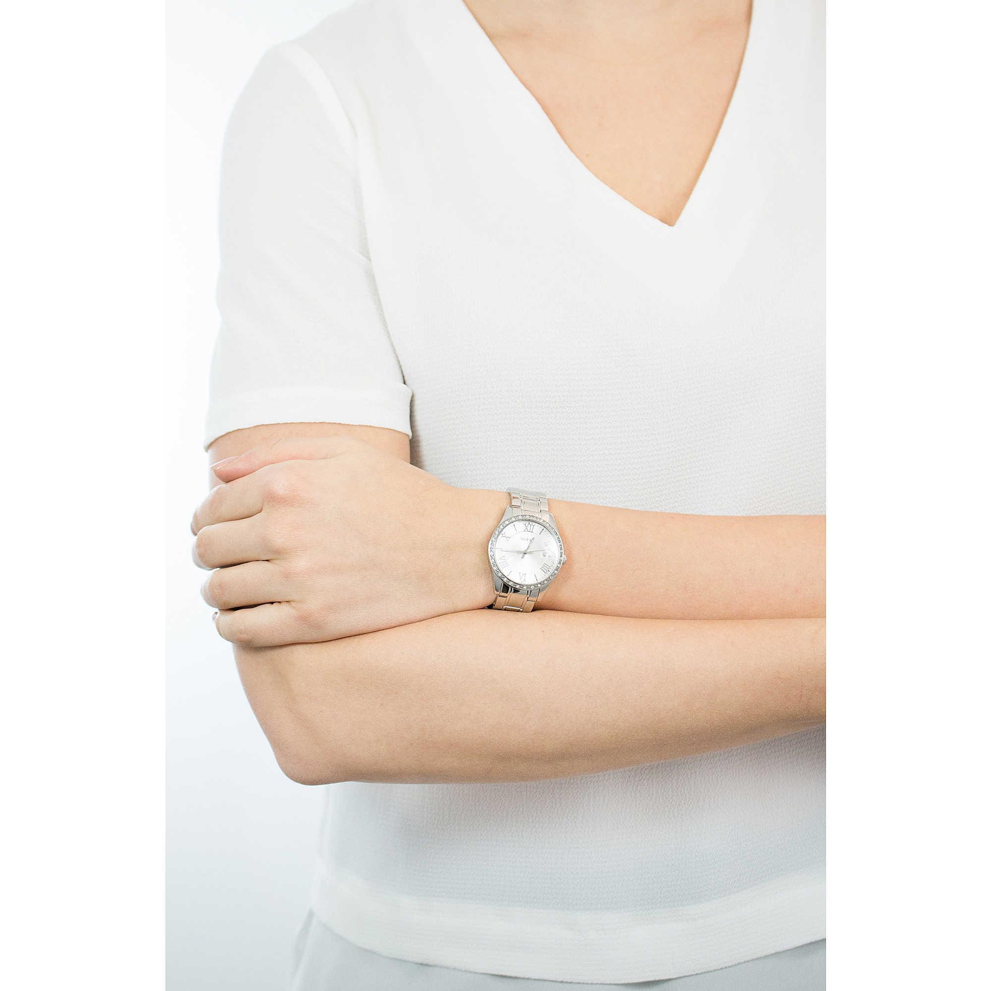 montre seul le temps femme Guess Greenwich W0985L1 seul le temps Guess 983c0129eff1