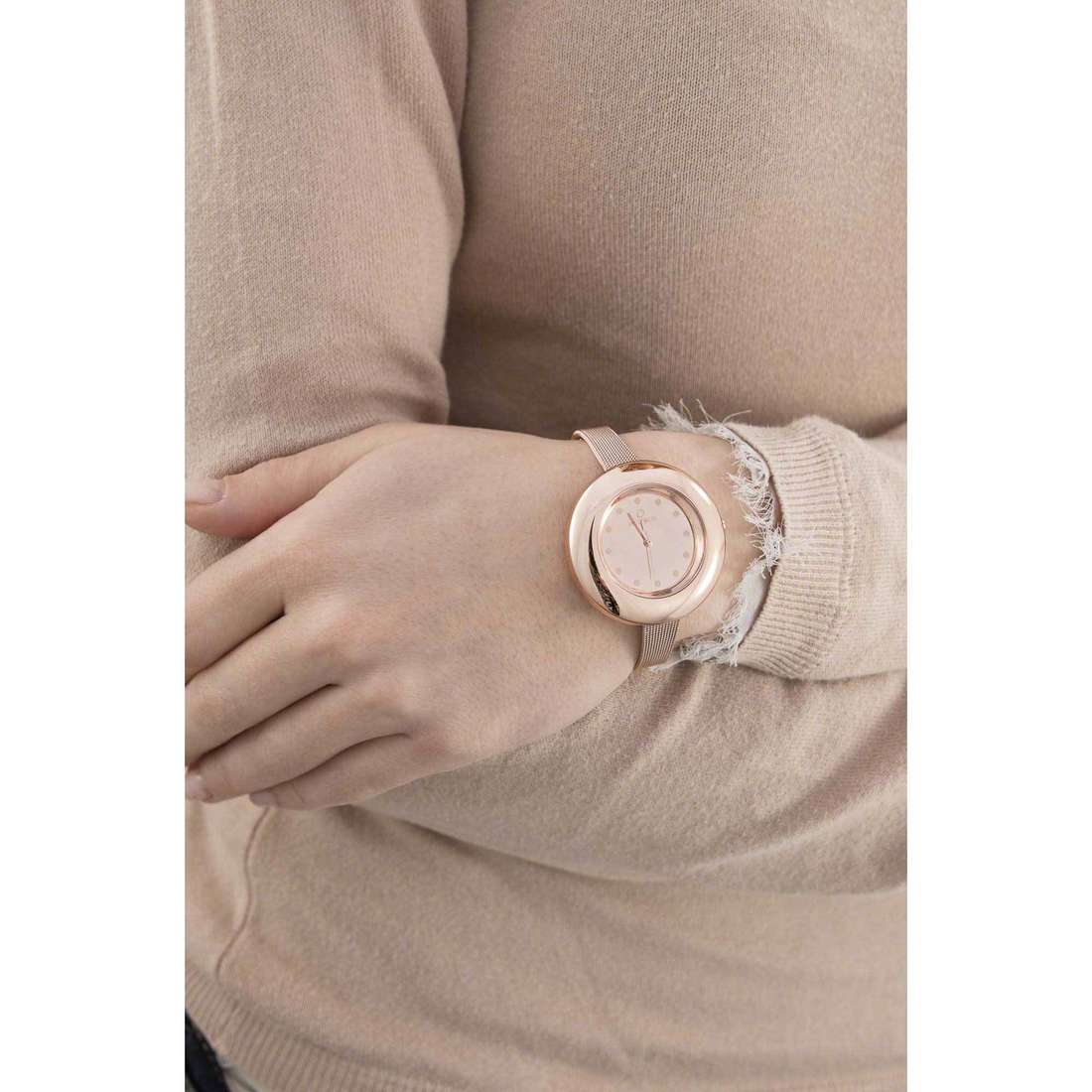 Ops Objects seul le temps Lux edition femme OPSPW-334 indosso