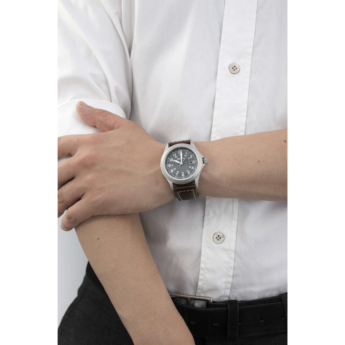 Breil seul le temps Army In homme TW1482 indosso