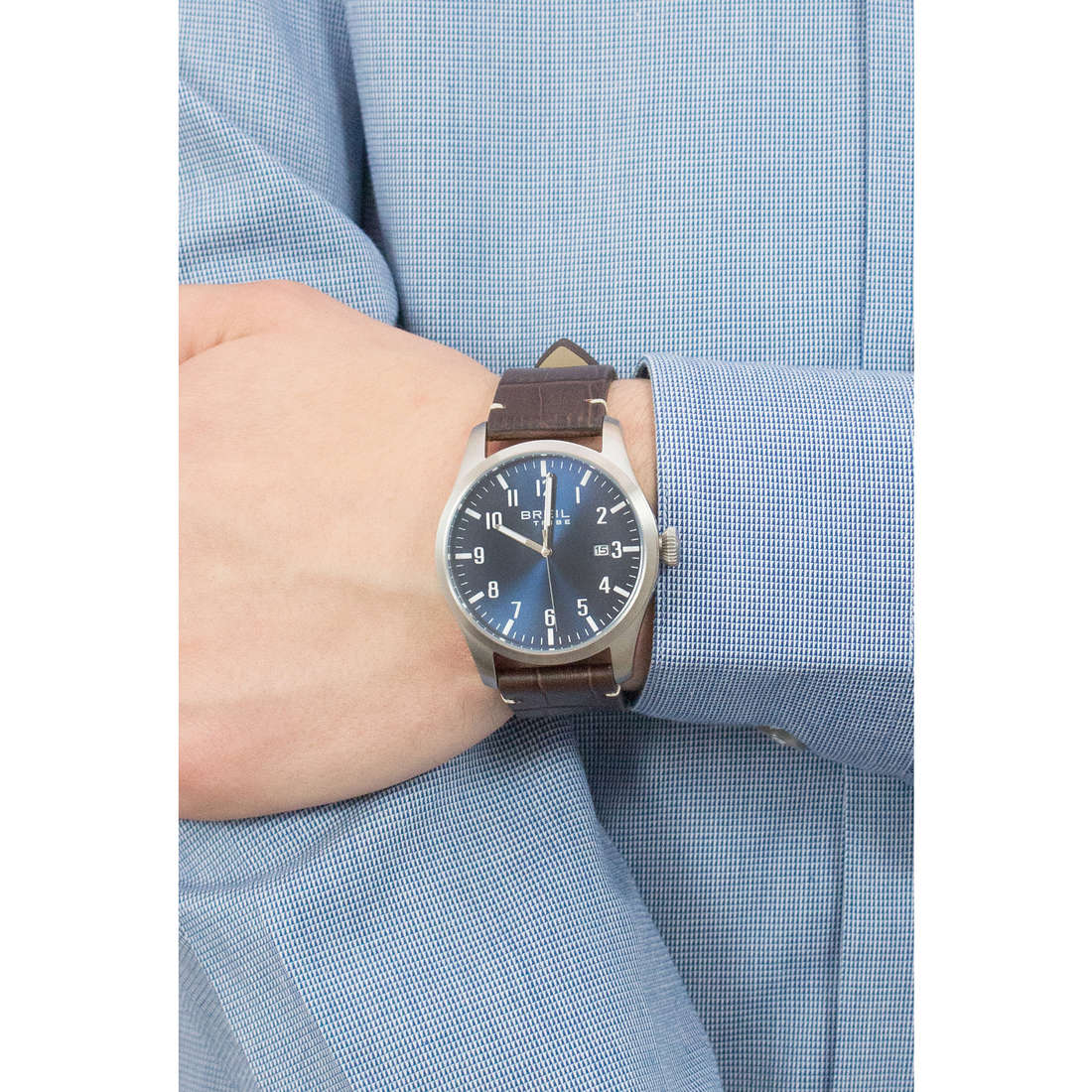 Breil seul le temps Classic Elegance Extension homme EW0234 photo wearing