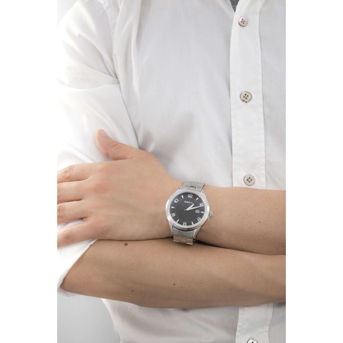 Breil seul le temps Lounge In homme TW1466 indosso