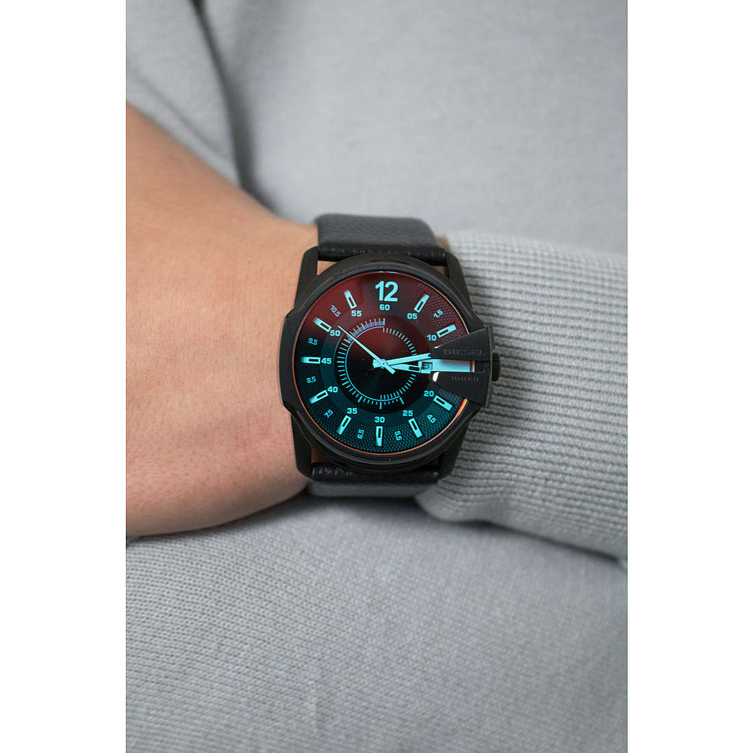 Diesel seul le temps Master Chief homme DZ1657 photo wearing