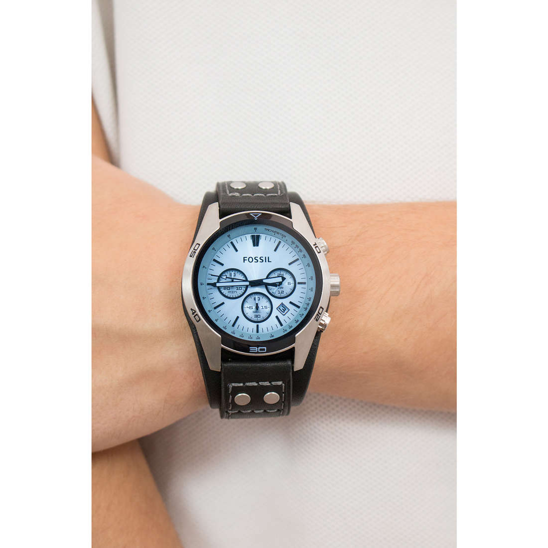 Fossil chronographes homme CH2564 photo wearing
