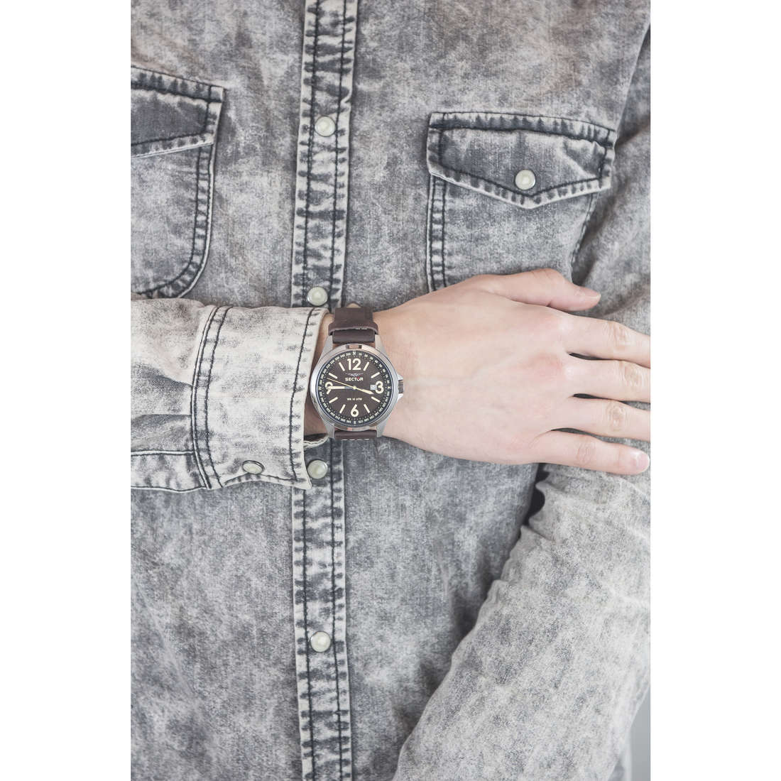 Sector seul le temps homme R3251180009 photo wearing